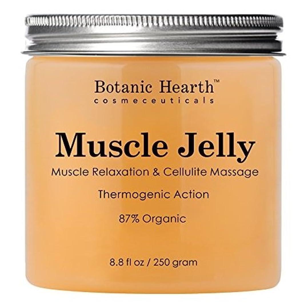代表して舗装気を散らす【2個】【海外直送品】Botanic Hearth Muscle Jelly Hot Cream 8.8 fl. oz.x2個セット