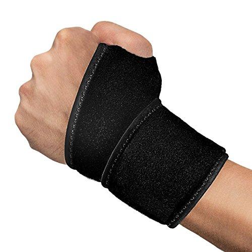 【EVigor】手首サポーター 手首固定 腱鞘炎 リストラップ 捻挫 怪我防止 スポーツ リストガード サポーター 左右兼用