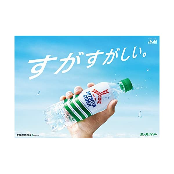 アサヒ飲料 三ツ矢サイダー 缶 500ml×24本の紹介画像4