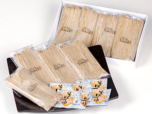 鹿野屋 冷凍生そばセット8食(かけそば)