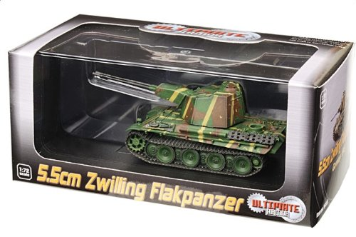 1:72 ドラゴンモデルズ アーマー コレクター シリーズ 60593 MAN 5.5cm Zwilling Flak装甲車 ディスプレイ モデル ドイツ軍 ドイツ 1945【並行輸入品】
