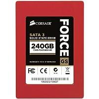 Corsair Force Series GS Red 240GB (6Gb/s) SATA 3 SF2200 controller Toggle SSD [並行輸入品]