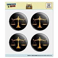 """正義のスケール法律弁護士 2.0""""Puffy Bubble Dome Scrapbooking製作ステッカーセット"""