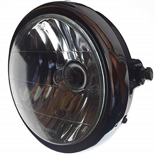 YBR125 リフレクター ヘッドライト 180mm ポジション球 付き YAMAHA ヤマハ バイク パーツ 互換品
