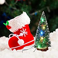Keemov クリスマスツリー LED ライト ライト付きミニクリスマスツリー ミニクリスマスツリー 装飾 電飾 再利用可能 クリスマスの雰囲気 クリスマスグッズ 省エネ 可愛い 耐久 環境に優しい インテリア用品 クリスマスデコレーション クリスマスプレゼントに最適 飾り おしゃれ 高級クリスマスツリー クリスマス/結婚式/誕生日/祭り/パーティー/学園祭/庭/広場 暖かくロマンチックな雰囲気 クリスマスパーティー クリスマス ホテル 家 居間 寝室 オフィス クラブバー 屋外 室内 クリスマスプレゼント ギフト 贈り物 ライト付き