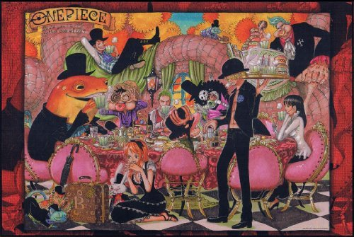ONE PIECE ジグソーパズル~Would you like another cup of tea?~JF2011 1000ピース