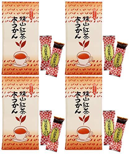 mita 紅茶ようかん 8個入 / 袋 × 4セット ( 紅茶羊羹 ) ひとくちようかん ・ 一口ようかん ミニようかん
