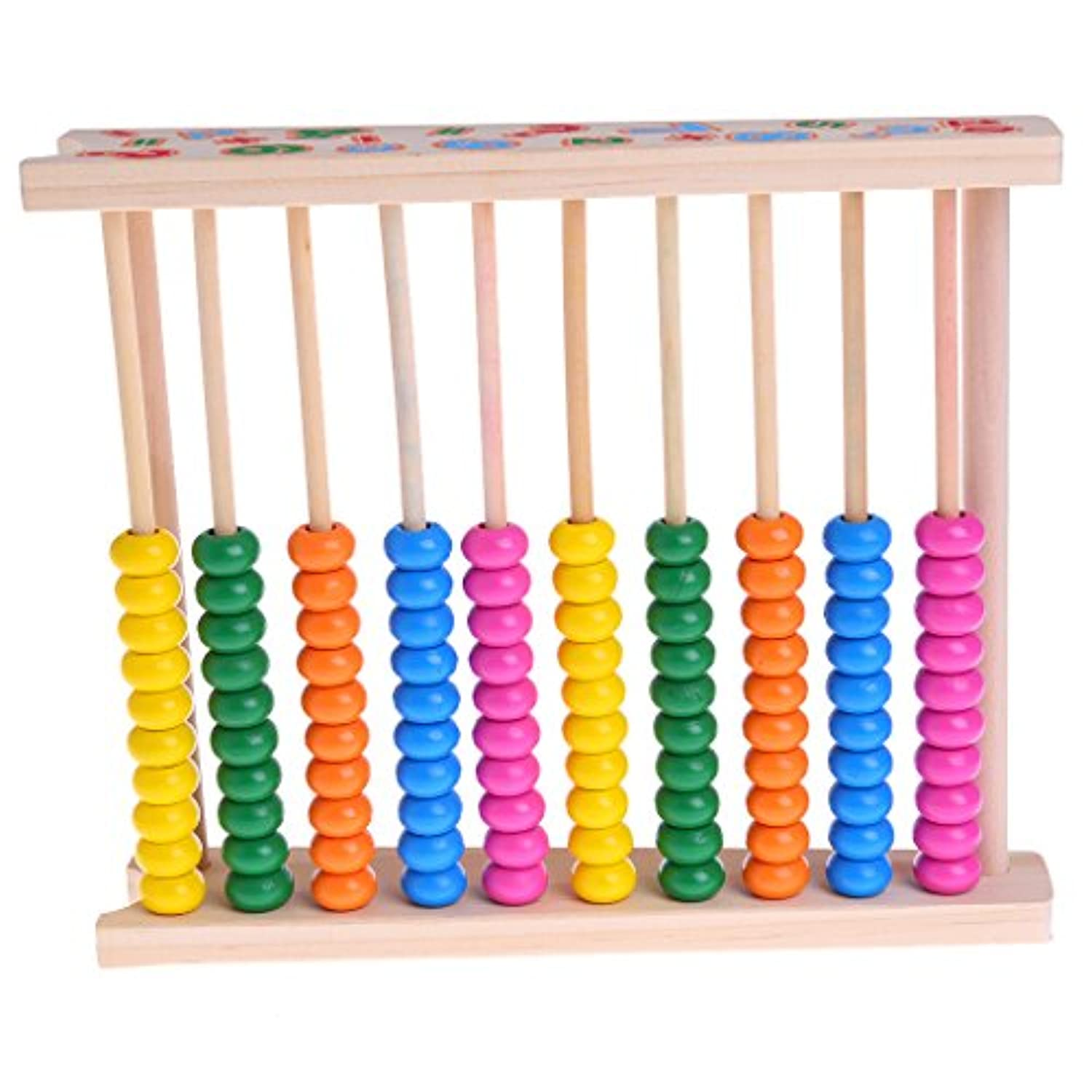 BCHZ Kids Colourful Wooden Abacus Teaching Early Educational Toy ,Math Learning toy