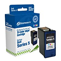 Dataproducts DPCM4646 Remanufactured High Yield Ink Cartridge Replacement for Dell J5567/M4646 (Tri-Color) by Dataproducts