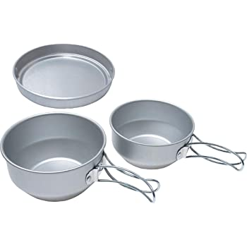 EPI(イーピーアイ) アルミ3点食器セット C-5201