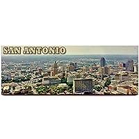 (San Antonio) - Fridge magnet travel souvenir (San Antonio)