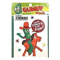 ガンビーGUMBY Sticker (GUMBY-06) ステッカー シール デカール バイク アメリカン雑貨 アメリカ雑貨