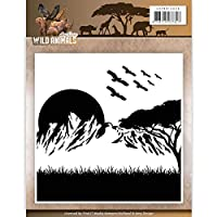 Find It Trading AMB10006 Amy Design Embossing Folder - Wild Animals