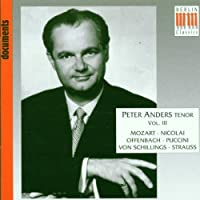 Peter Anders, Vol.3 (1994-08-16)