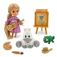 Disney Animators' Collection Rapunzel Mini Doll Play Set - 13cm