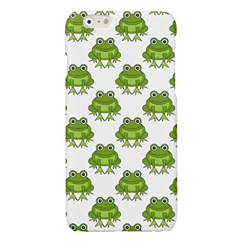 かわいいカエルパターン iphone6S ケース iphone6ケース おしゃれ PC ハードケース スリム イラスト 落下防止 耐衝撃 保護キャップ アイフォン6S スマートフォン用 カバー