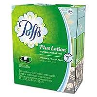 PuffsプラスローションFacial Tissue、ホワイト、2層、116/ボックス