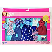 Barbie Fashions Daytime Style & Evening Sparkle Fashion Pack 2002