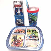 The Avengers Dinner and Cup Set 4Pieces BPAフリー