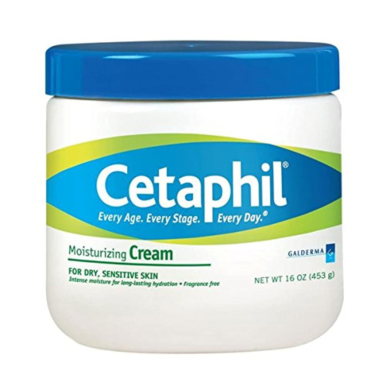 深さ義務力Cetaphil Moisturizing Cream 453g [並行輸入品]