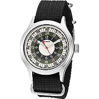 Timex メンズ トッドスナイダー グレー モッド 40mm One Size ブラック/グレー