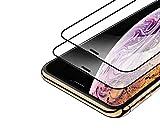 【2枚セット】NISHEN iPhone11 Pro Max/iPhone XS Max ガラスフィルム iphone Xs Max 強化ガラス 【日本製素材旭硝子製】 全面保護/業界最高硬度9H/高透過率/3D Touch対応/自動吸着/気泡ゼロ/液晶強化ガラス/全面フイルムカバー