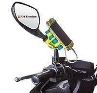 NetFreedom バイク用 スマートフォンホルダー 充電しながら使えるホルダー Red Dot Award 受賞 デザイン
