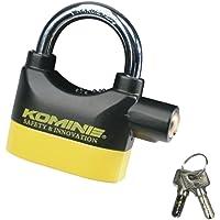 コミネ(KOMINE) バイク用 盗難防止アラームパッドロック LK-120