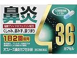 【指定第2類医薬品】オフノーズ鼻炎カプセルW 36カプセル