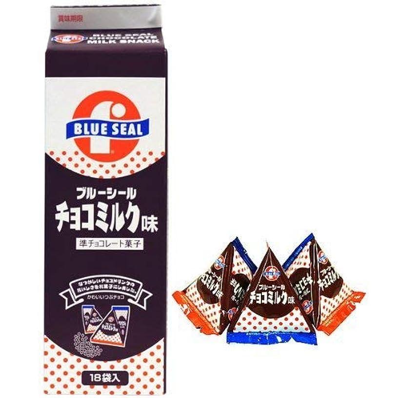 リード突っ込むなくなるブルーシール チョコミンツ 18袋入×3P 沖縄物産企業連合 沖縄を代表するアイス屋さん?ブルーシールのチョコミンツ レトロなパッケージ 沖縄土産におすすめ