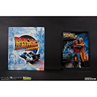 Back to the Future Diorama Sculpted映画ポスター& Ultimate Visual履歴Colle