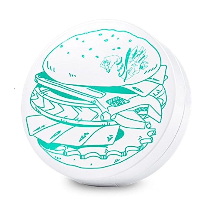 ふける寸前文字Swanicoco AC burger Cushion (wt Refill) (Yellow Base)