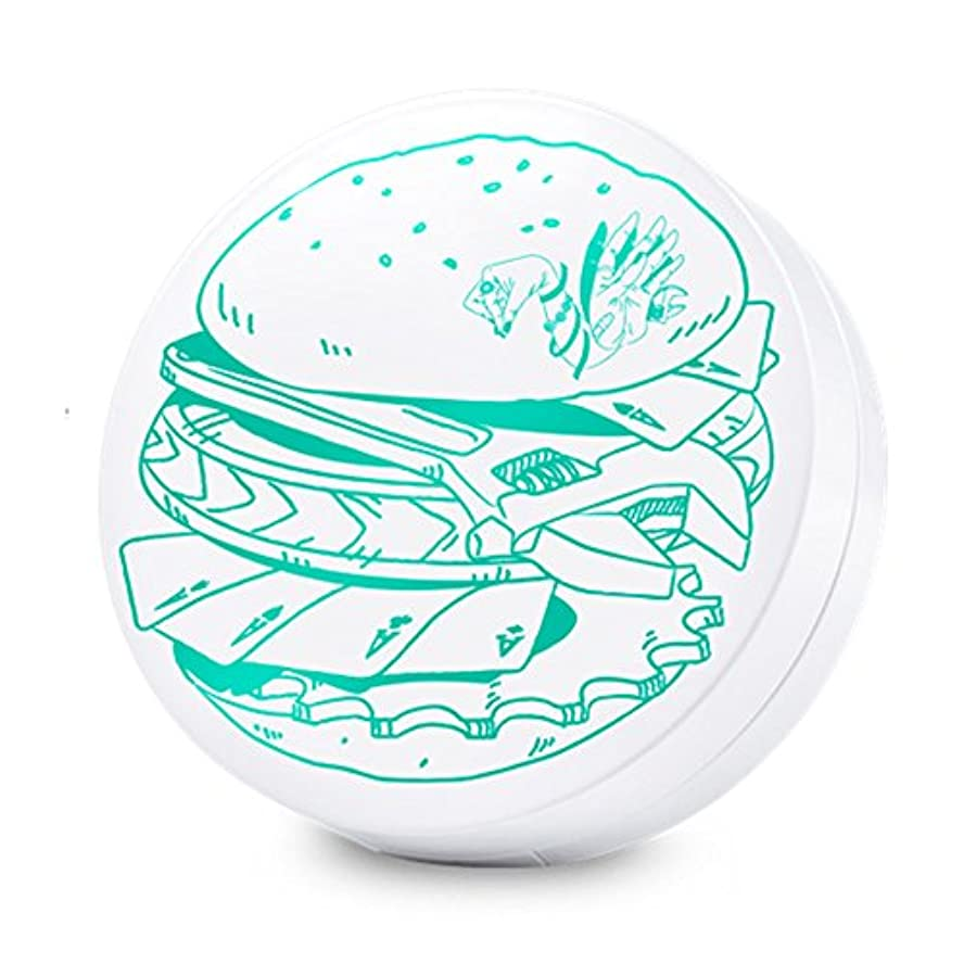 動揺させる石の抜本的なSwanicoco AC burger Cushion (wt Refill) (Yellow Base)