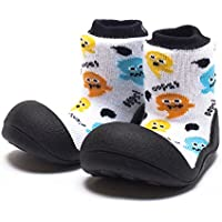 Attipas Halloween Baby Walker Shoes, White, Medium