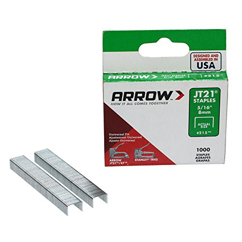 ARROW ハンドタッカー イージーショット 替針 8mm 215 1個(1000本)