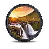 77mm レンズフィルター MC UV フィルター-ウルトラスリム16層多層加工 薄枠 紫外線保護 99%透過率 Canon Nikon Sony対応