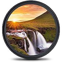 67mm レンズフィルター MC UV フィルター-ウルトラスリム16層多層加工 薄枠 紫外線保護 99%透過率 Canon Nikon Sony対応