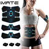 AB Stimulator Abdominal Muscle Toner IMATE AB Toning Belt Fitness Exercise Home Office Workout Equipment IMATE Smart Muscle Trainer Training Gear Toning Belt Rechargeable Muscle Exercise
