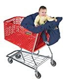 Jolly Jumper Sani-shopper Shopping Cart Cover with Safety Belt- Fits Most Resturant High Chairs- Red