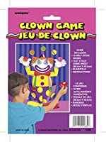 Unique Party Game - Nose On The Clown / ユニークなパーティーゲーム - ピエロに鼻