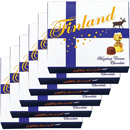 北欧 土産 フィンランド ヘーゼルナッツクリームチョコレート (海外旅行 北欧 お土産)