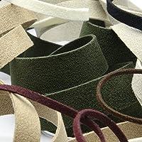 FUJIYAMA RIBBON スエードテープ 2mm サンドベージュ 9.14M巻 手芸 服飾 ラッピング 人工皮革