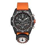 [ルミノックス] 腕時計 ベアグリルス サバイバル マスター クロノグラフ 太陽コンパス搭載 SOSコード表記 Carbonox+ 軽量 発光 防水 Luminox 3749 メンズ 正規輸入品 オレンジ