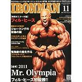 IRONMAN (アイアンマン) 2011年 11月号 [雑誌]
