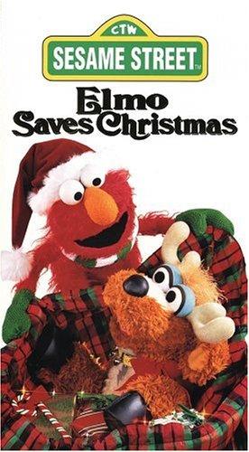 Sesame Street - Elmo Saves Xmas [VHS] [Import]