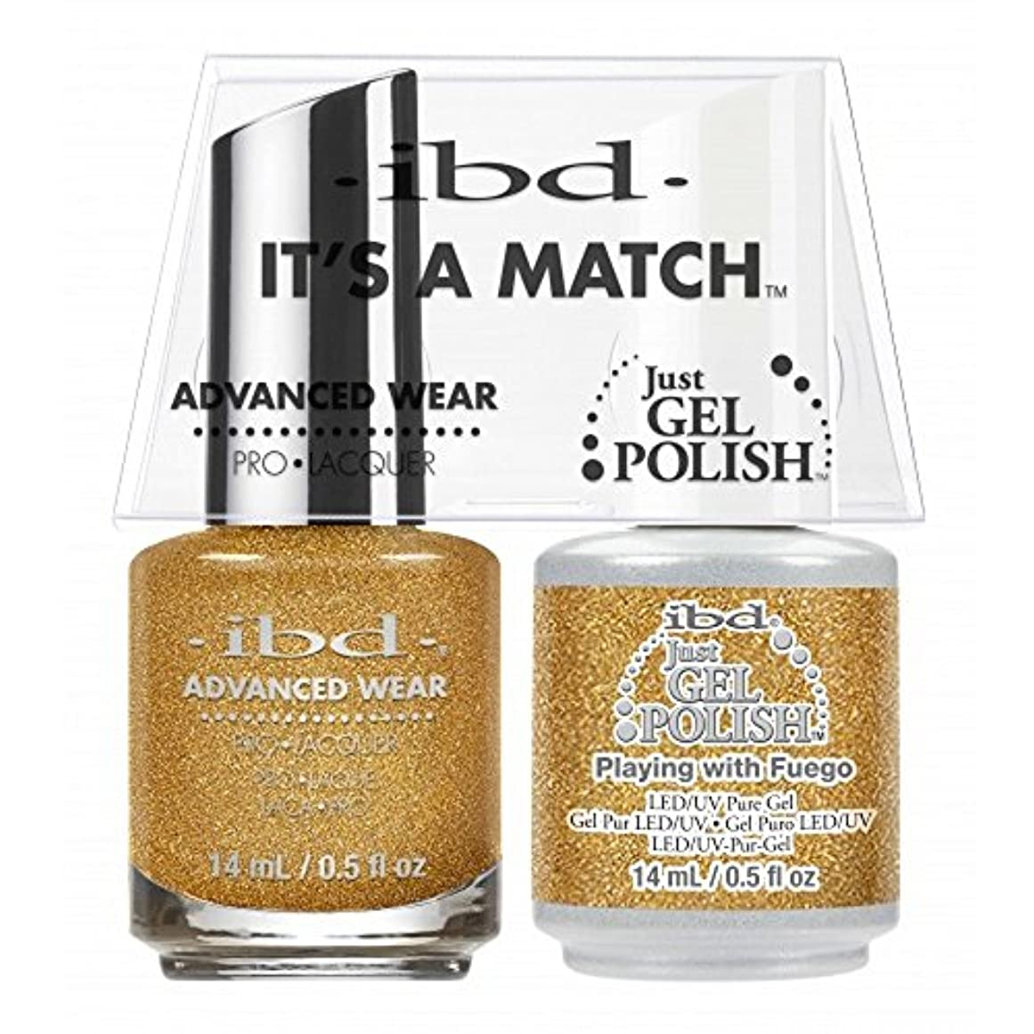 ibd - It's A Match -Duo Pack- Love Lola Collection - Playing with Fuego - 14 mL / 0.5 oz Each