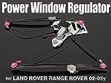 02-05y レンジローバー パワーウィンドウレギュレーター+モーター(フロント/左側)