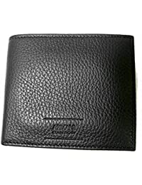 [アルマーニ]ARMANI コレツォーニ 財布 メンズ 二つ折 (ブラック) *箱傷あり A-1571 [並行輸入品]