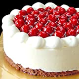 洋菓子店カサミンゴー 最高級洋菓子 シュス木苺 レアチーズケーキ (誕生日プレート無し, 20cm)