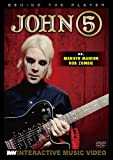 BEHIND THE PLAYER JOHN 5(ex.MARILYN MANSON) [DVD] 日本語字幕入り
